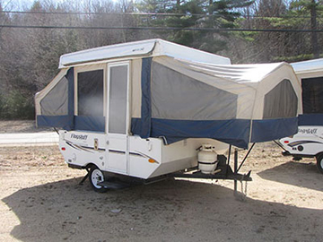 Used 2008 Flagstaff Tent Trailer