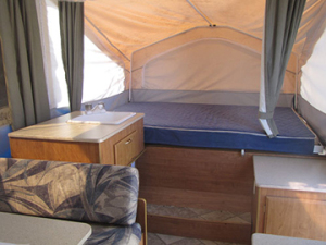 2008 Flagstaff Tent Trailer Bunk