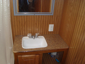 Used Coachman RV Bathroom