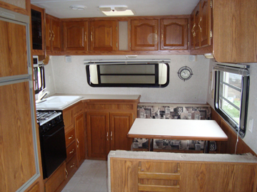 Used Sandpiper RV Kitchen