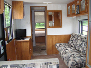 Used Sandpiper RV Living Room