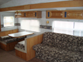Cedar Creek Travel Trailer Seating
