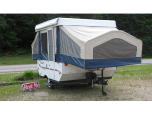 20013 Flagstaff Tent Trailer